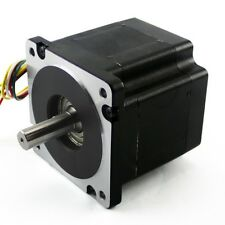 NEMA34 Stepper Motor – 906 oz in 6.1A Dual Shaft (KL34H295-43-8B)