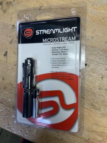 66318 Streamlight MicroStream DEL Poche Lampe De Poche Avec Chapeau Clip maintenant 45 Lumen