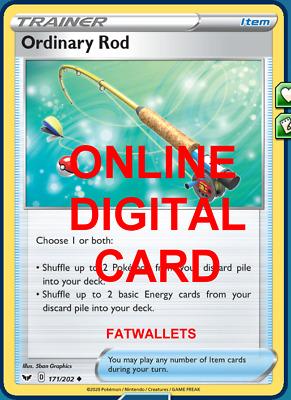 Aurora Energy 186//202 Sword /& Shield PTCGO Online Digital Card