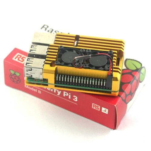 High Performance Custom Aluminum Heatsink Cooling Fans For Raspberry Pi 3B /& 3B+