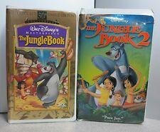 JUNGLE BOOK 1 & 2 VHS DISNEY **TESTED** FAST SHIPPER
