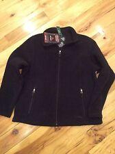 Women's trail model fleece jacket-black-XL