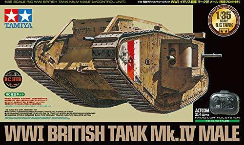 Tamiya 48214 1 35rc Carroarmato Serie No.14wwi Carrarmato Inglese Mark IV a