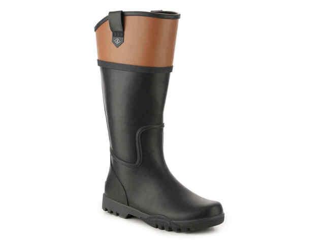 Nellie Kate Rain Boot, Black Size