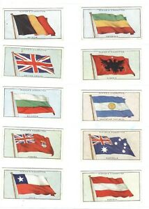 1928 Flags League of Nations world national  complete Players tobacco set cards