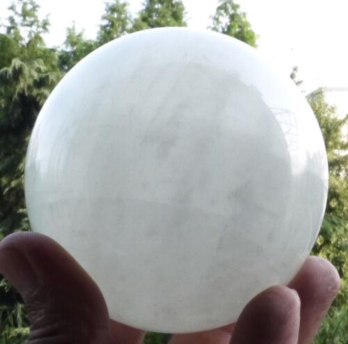60-100mm Glow In The Dark Stone crystal Fluorite sphere ball (Iceland SPAR)