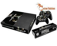 XBOX 1 ONE CONSOLE & CONTROLLER AUFKLEBER STICKER SKIN SET MORTAL KOMBAT X