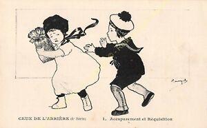 CPA Illustrator Maryel Circa 1914 1918 Series 4 n1