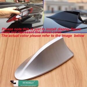 Details about Silver Sedan Radio FM/AM Signal Aerial Shark Fin Antenna For  Vauxhall Corsa Audi