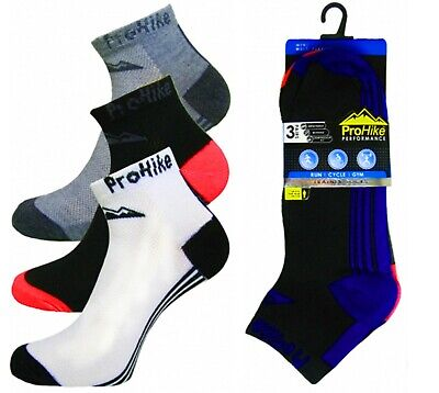Socks Aspiring Men's 12 Pairs Prohike Running Cycle Gym Sports Shoe Liners Trainer Socks 2052