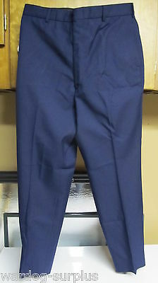 NEW TROUSERS US AIR FORCE DRESS PANTS MENS POLY WOOL USAF BLUE AF MANY SIZES