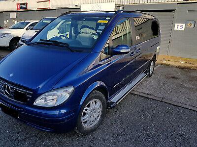 ESTRIBOS EN PLATAFORMA DE ALUMINIO BARRAS LATERALES VW T5 T6 Corto 2003
