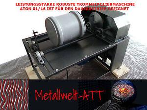 Trommelpoliermaschine-ohne-Poliertrommel-Trowalisiermaschine-fuer-Dauerbetrieb