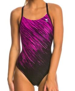 68cc17927bbc Image is loading NEW-TYR-Andromeda-Diamondfit-One-Piece-Swimsuit-Pink-