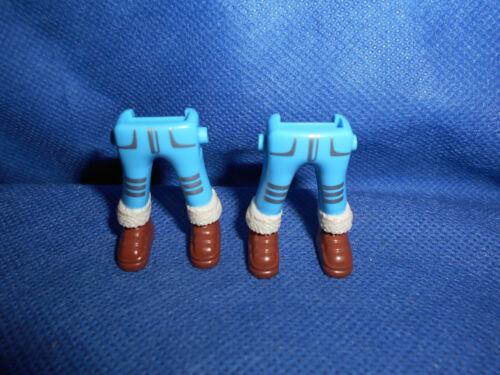 Playmobil Expedition Arktis 2 x Beine blau Stiefel Fellkragen unbespielt top