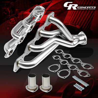 FOR CHEVY A-BODY BIG BLOCK 396-502 454 STAINLESS EXHAUST MANIFOLD SHORTY HEADER
