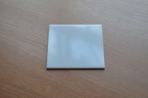 PLEXIGLAS® XT Platte, Rechteckig 5 mm Stark, Weiß, GP Max: 259€/m²