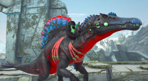 Ark Survival Evolved Xbox One PvE x2 Poseidon BEST Spino Fert Eggs 15kHP & 1019m