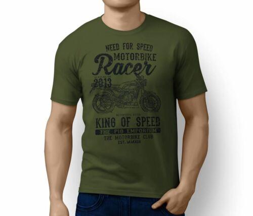 RH King Illustration For A Yamaha RD 350 LC Motorbike Fan T-shirt