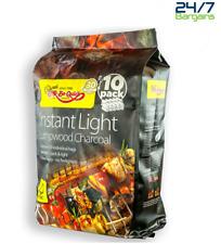 4kg Fuel Express Instant Light Lumpwood Charcoal BBQ Barbecue