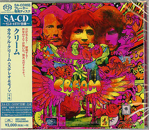 CREAM-DISRAELI-GEARS-STEREO-amp-MONO-JAPAN-SHM-SACD-BONUS-TRACK-G88
