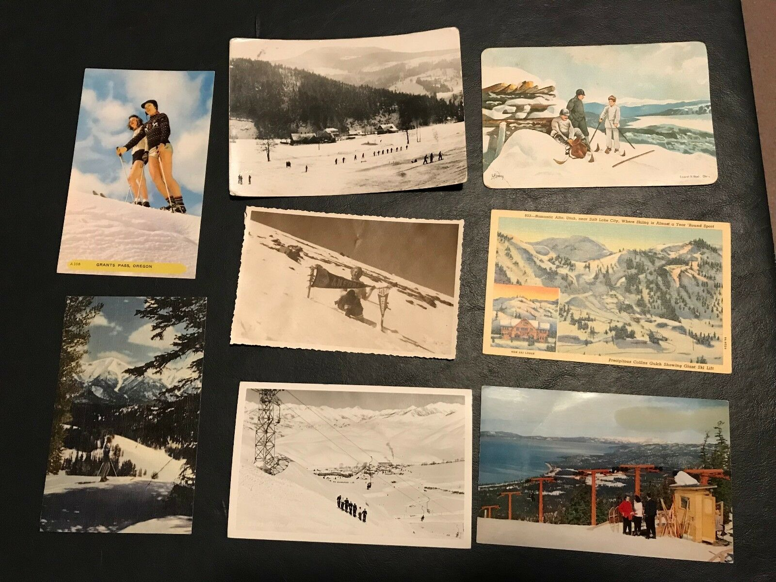 SKIING  covers postcards stamps photos fdc Alpine Alps snow winter rppc Olympics