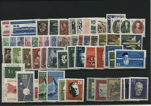 Germany-GDR-vintage-yearset-Yearset-1957-Mint-MNH-complete-Complete
