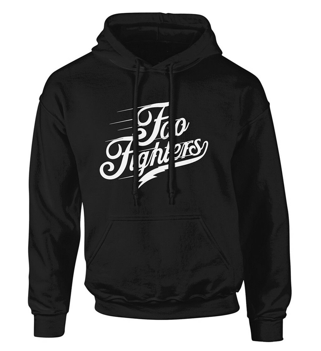 Foo Fighters' Logo Text' Pullover Hoodie - Neuf et Officiel