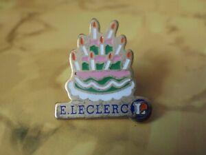 Pin-S-Vintage-Pins-de-Solapa-Coleccionista-Aniversario-E-Leclerc-Lote-C156