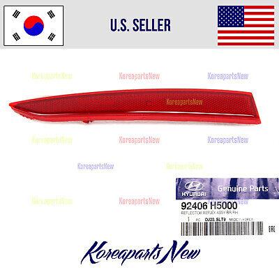 Rear Genuine Hyundai 92406-1R000 Reflector//Reflex Assembly Right