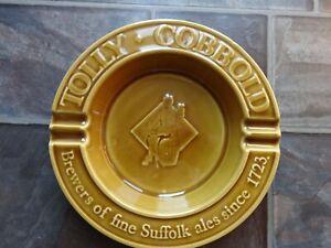 tolly cobbold ashtray ceramic 22cm approx 1979 never used p6QGHKXy-09162020-550428253