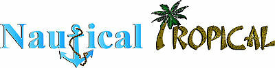 Nautical Tropical Gifts and Decor