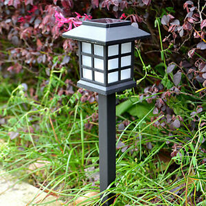 Solar power led rasen licht party pfad outdoor scheinwerfer garten lampe ppb ebay - Garten licht solar ...