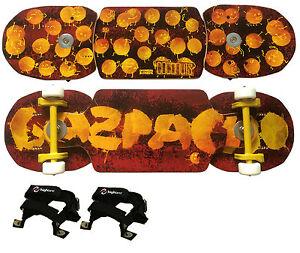 Gazpacho-Coconuts-Streetboard-55-Munoz-Snakeboard-Highland-Softcore-Bindung