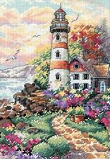 "Dimensions Gold Counted Cross stitch kit 5"" x 7"" ~ BEACON AT DAYBREAK Sale 06883"