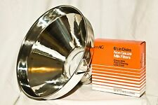 New Large Stainless Steel Milk Strainer 13 Inch Seamless With Filters Combo