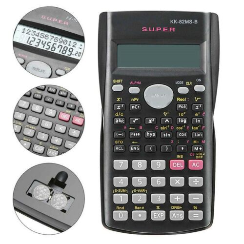 Full Scientific Calculator For School Exams Home Office Education Project