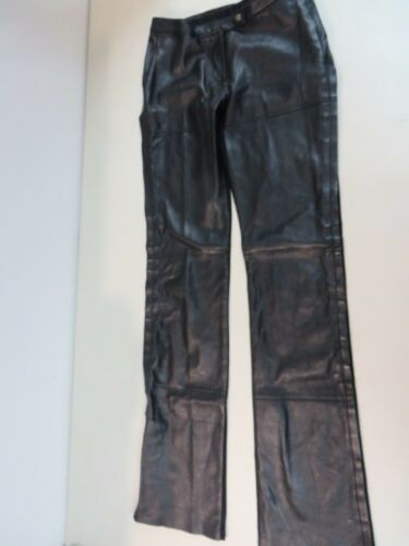 GIANFRANCO FERRE JEANS Leather/viscose Combo Side
