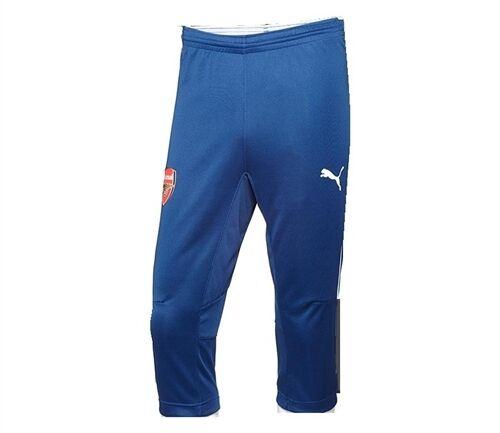Puma Arsenal 2014 - 2015 3 4 Soccer Training Pants Brand New Navy bluee