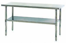 Stainless Steel Table With Under Shelf 30 X 36 X 69 1 Ea