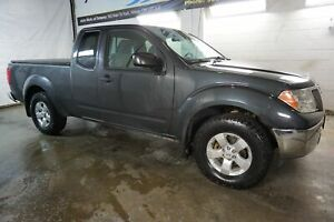 2011 Nissan Frontier V6 SV 4x4 CERTIFIED 2YR WARRANTY *SERVICE RECORDS* CRUISE ALLOYS BED COVER