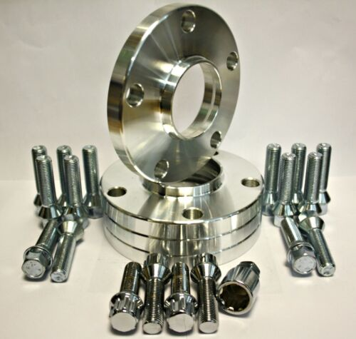 4 x 15MM bulloni della ruota distanziatori /& Fit di bloccaggio per BMW serie 6 F06 F12 F13