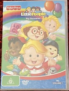 Fisher-Price-Little-People-Big-Discoveries-Vol-1-DVD-Brand-New-Sealed-R4