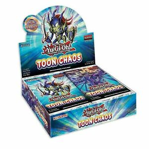 Toon Chaos 1st Edition English Booster Box YuGiOh NEW SEALED PRESALE SHIPS 6/19