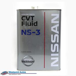 Details about Genuine Nissan CVT Transmission Fluid 4 Litre Part KLE53-00004