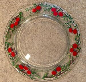 Clear Gl Large Dinner Plates