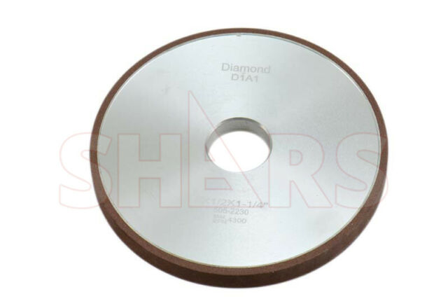 "SHARS 6 X 1//8/"" D1A1 STRAIGHT STYLE DIAMOND WHEEL 100 GRIT NEW"