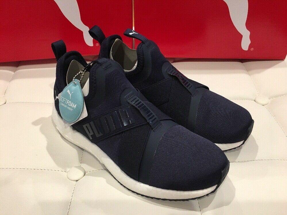 PUMA Femme Mega NRGY X Softfoam Peacoat Navy chaussures Taille 8