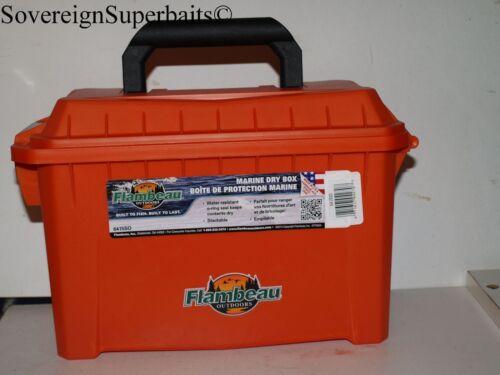 FLAMBEAU 6415SO SMALL DRY BOX KAYAK FISHING ROCK HOPPING TACKLE BOX//DRYSAFE