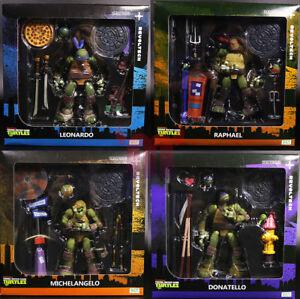 TMNT-Teenage-Mutant-Ninja-Turtles-6-034-Action-Figure-Kaiyodo-Revoltech-Doll